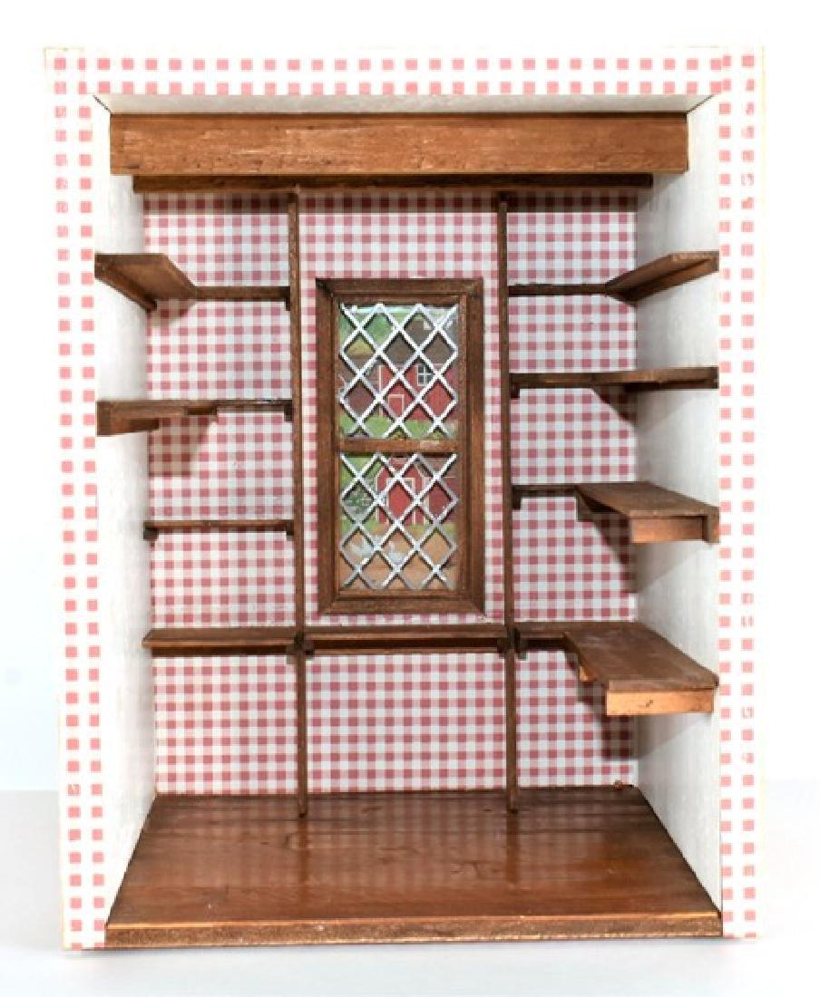 Small Pantry Room Box Dollhouse - 2