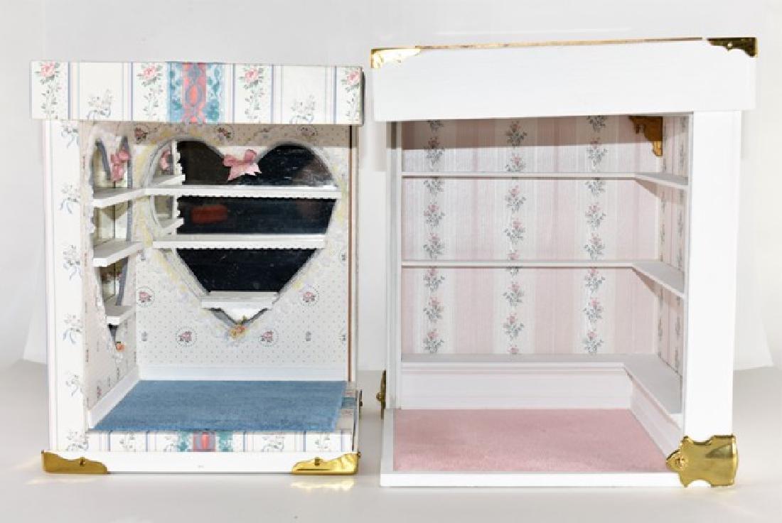 Two Small Room Box Dollhouses - 2