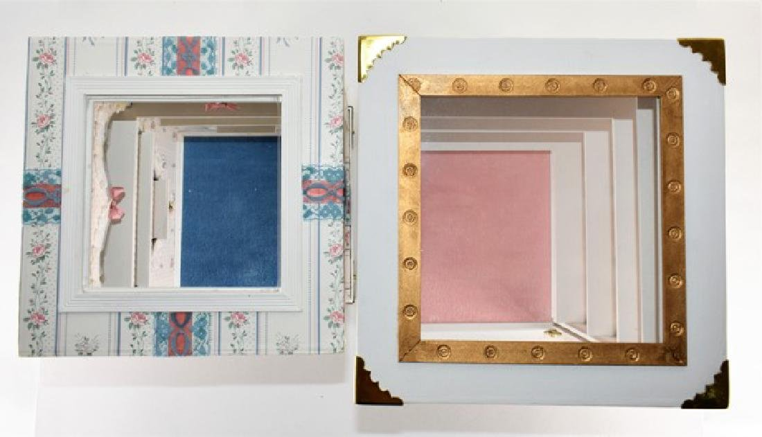Two Small Room Box Dollhouses - 3