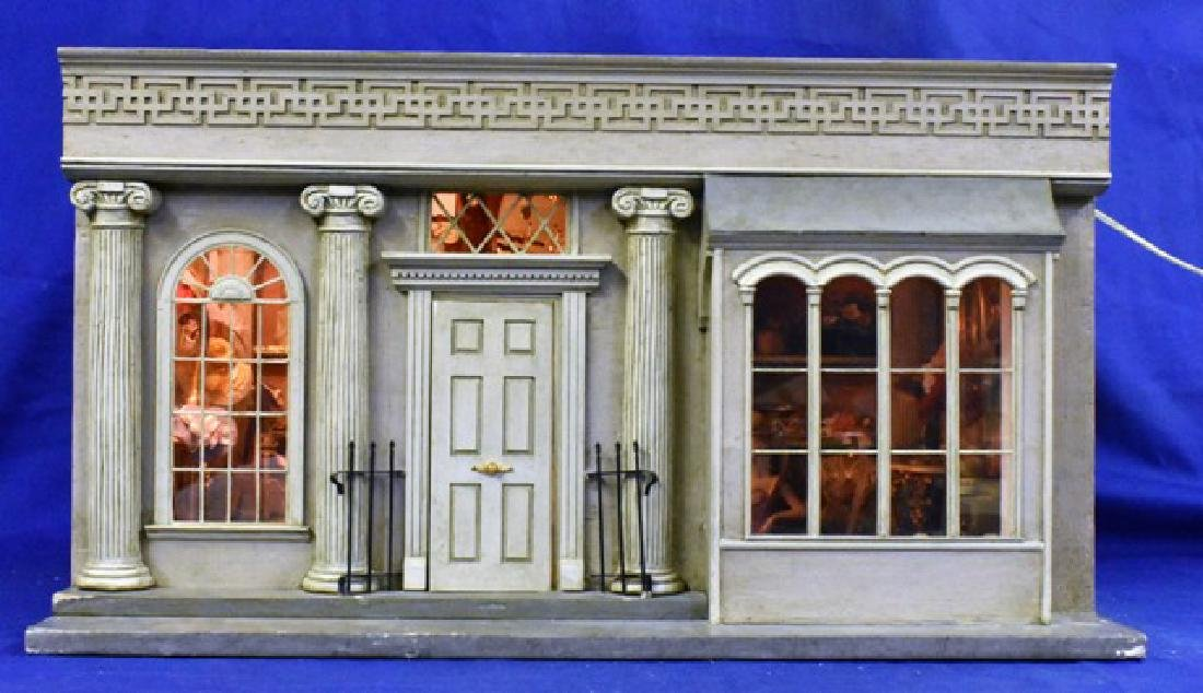 Dress Shop Room Box Dollhouse