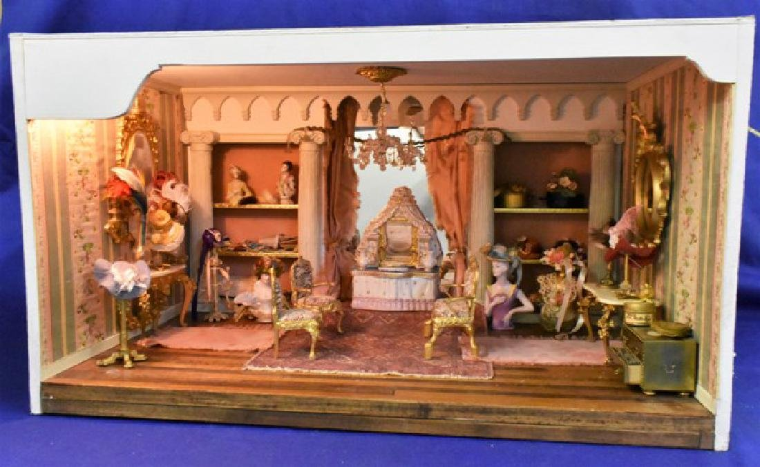 Dress Shop Room Box Dollhouse - 3