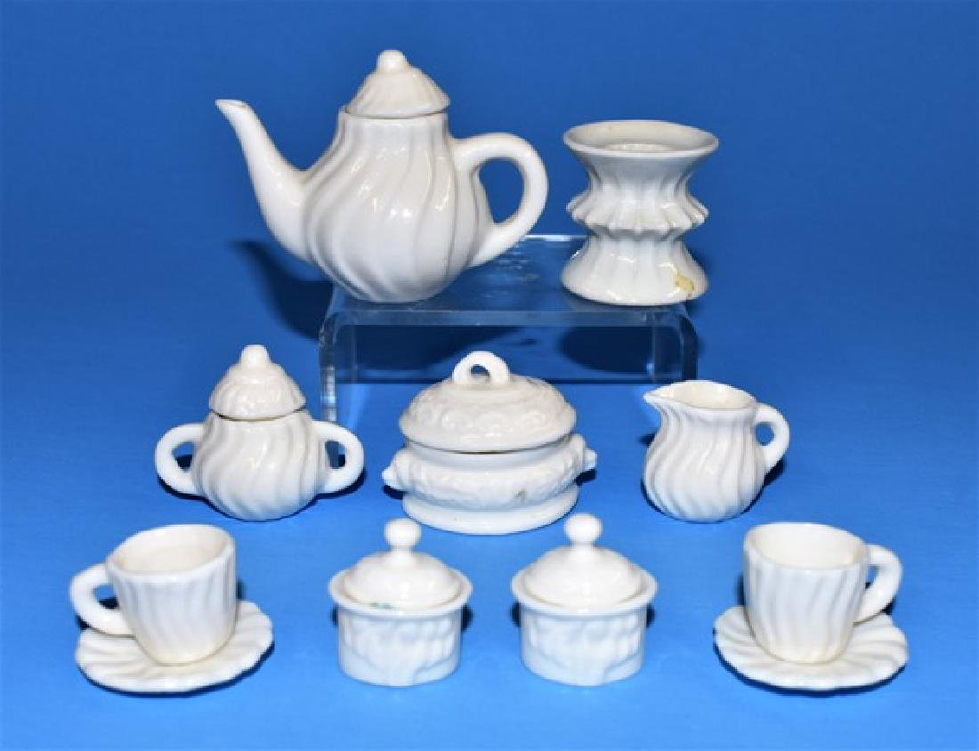 Dollhouse Sterling Accessories and Tea Set Miniatures - 2
