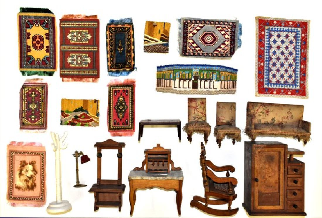 Antique Dollhouse Furniture Miniatures