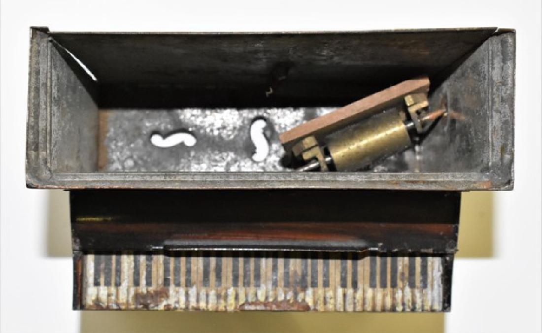 Rare Rock & Graner Tin Piano Dollhouse Miniature - 2
