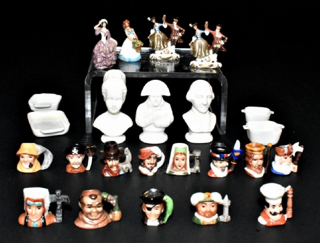 Carol Pongrasic Mugs, Figures & Busts Dollhouse