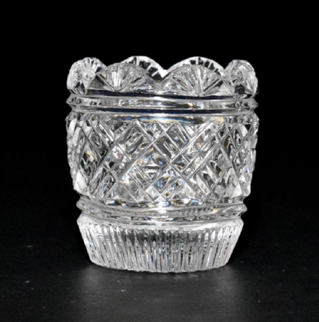 Three Jim Irish Cut Glass Bowls for Dollhouse - 2