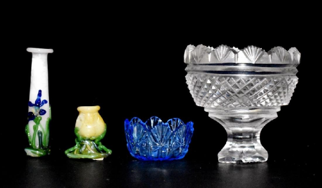 Jim Irish Punchbowl, Blue Bowl & Others for Dollhouse