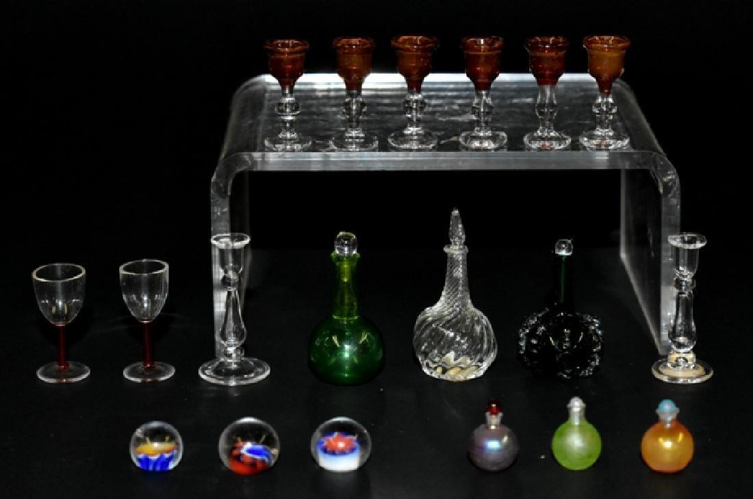 Edward Hill Hand Blown Dollhouse Glassware Miniatures