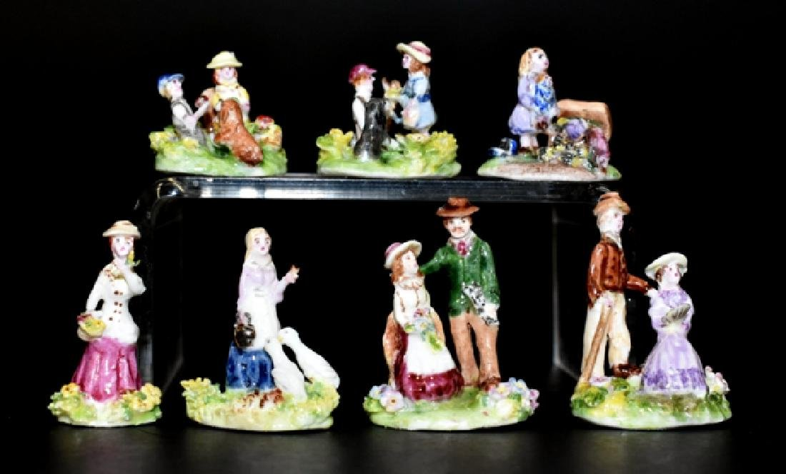 Ann Dalton Porcelain Figurines Dollhouse Miniatures