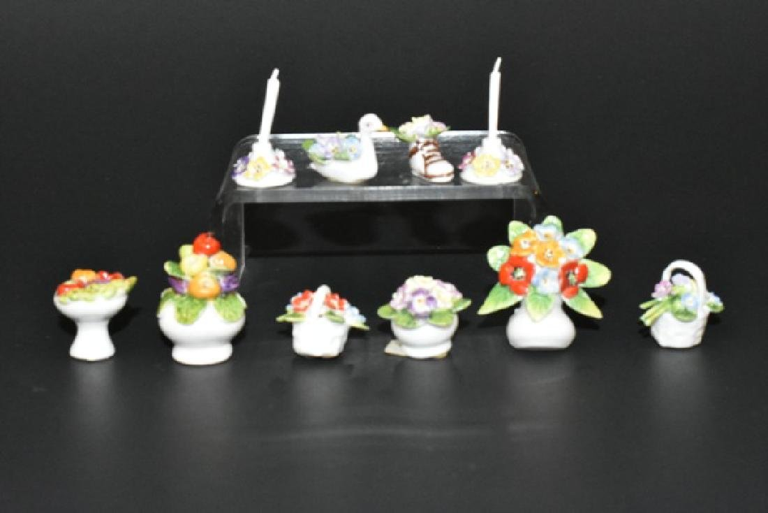 Ann Dalton Dollhouse Porcelain Accessories Miniatures