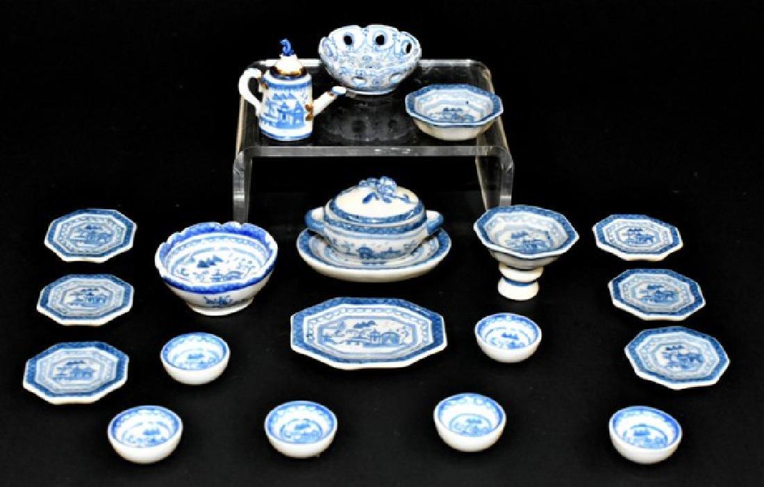 Elisabett Andrews Canton Tea & Dinner Ware Dollhouse