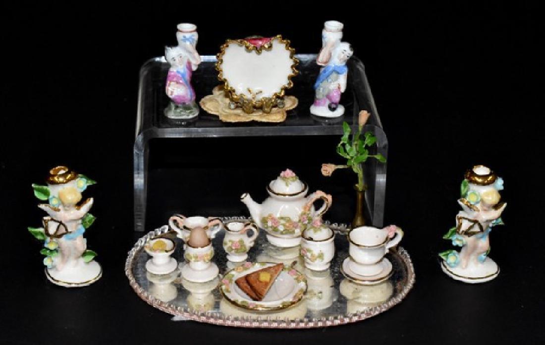McNelly, Kollenda Dollhouse China Miniatures