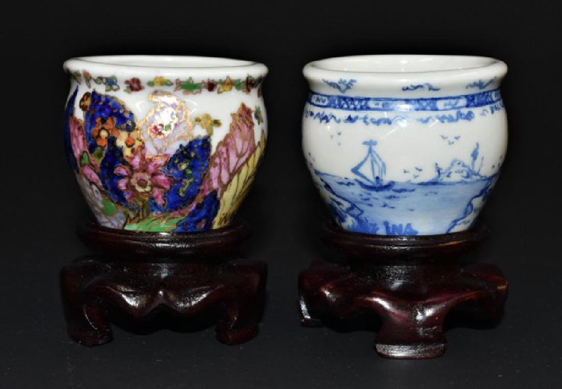 Pair of Vince Stapleton Urns