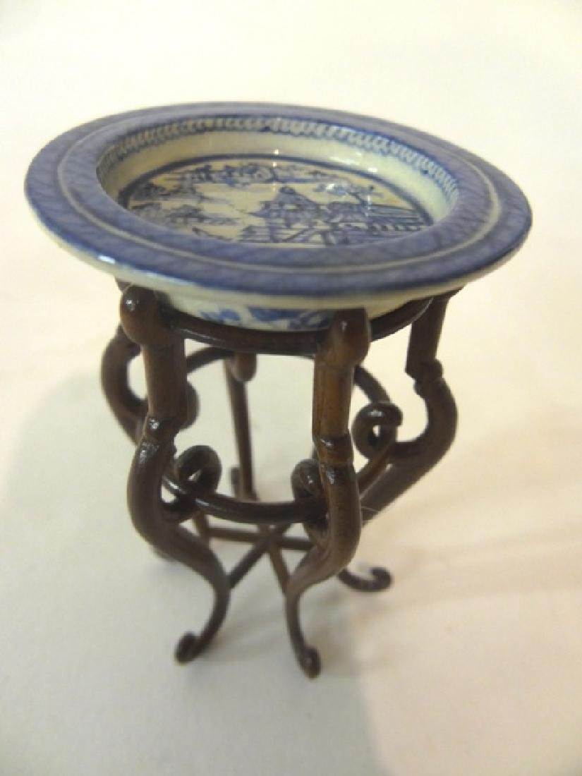 David Buttfield Scroll Plant Stand & Debbie McKnirght