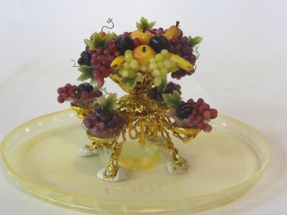 Ellen Blauer & F. Albert Epergne Dollhouse Miniature