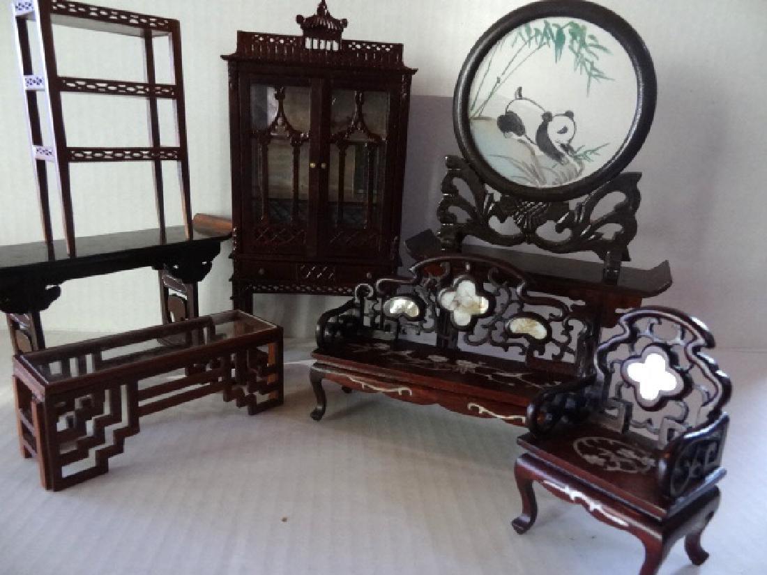 Dollhouse Oriental Miniature Furniture