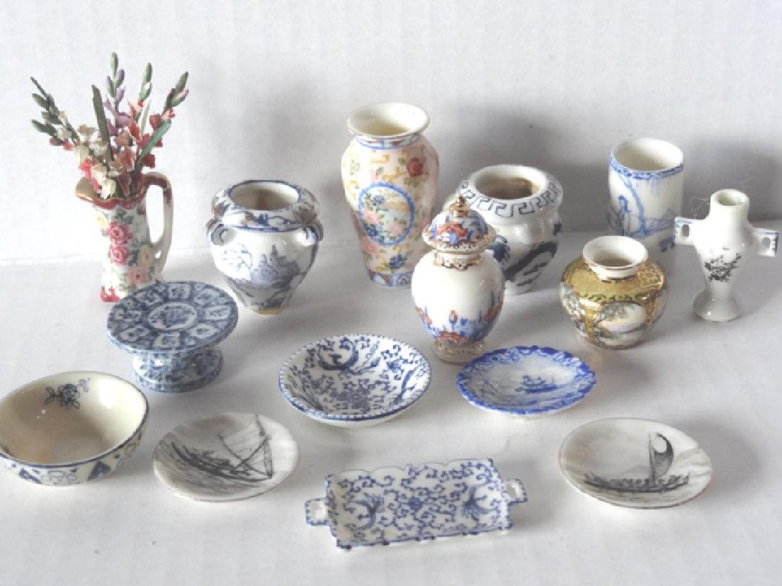 Ina Williams Porcelains Dollhouse Miniatures