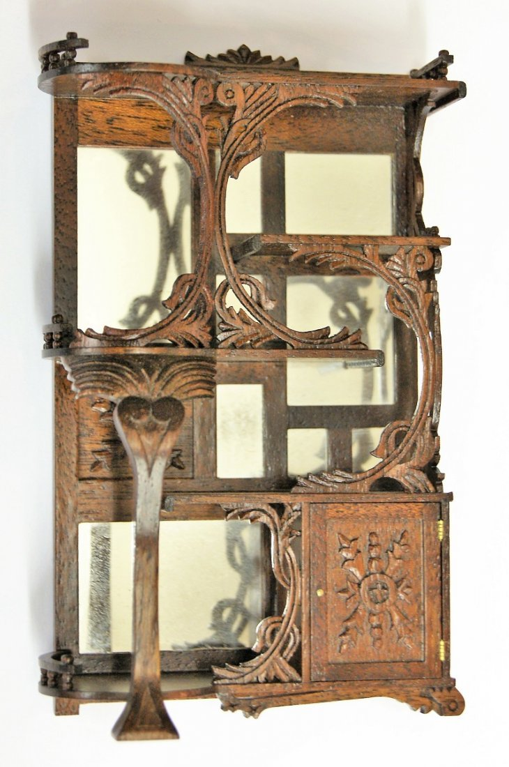 John G. Ottewill Etegere Dollhouse Miniature - 3