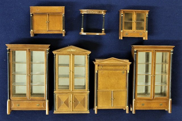 Bespaq Neo Classical Furniture Dollhouse Miniatures - 3