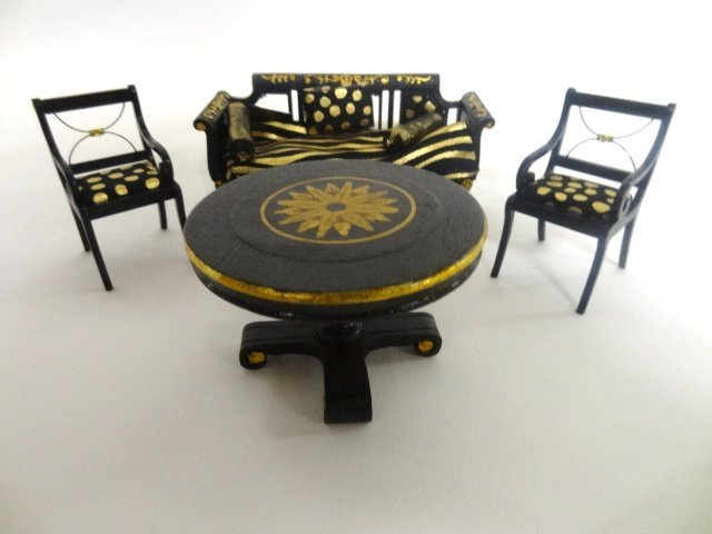 Herbert Mosqurda Neo Classical Dollhouse Furniture
