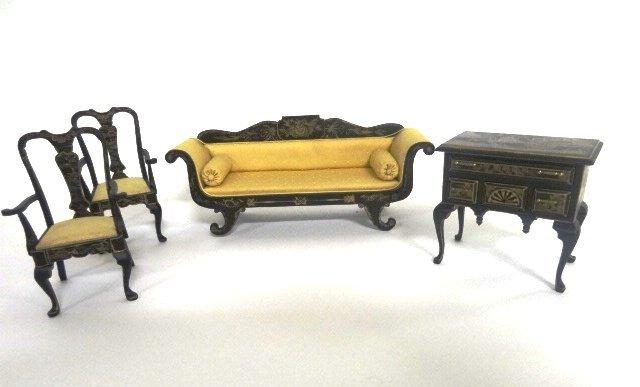 Ellen Blauer Regency Furniture Dollhouse Miniatures