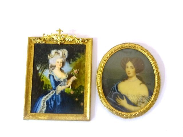M. Widertt Painting and Vintage Painting For Dollhouse