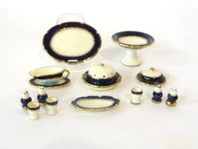 Jean Yingling Porcelain Dollhouse Miniatures - 2