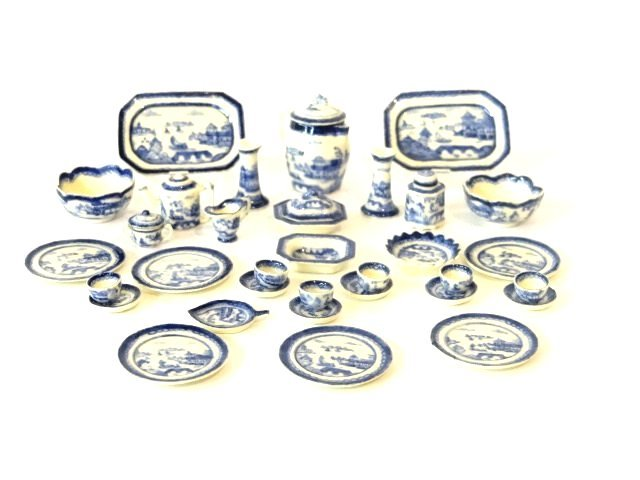 Jean Yingling Canton Porcelain Dollhouse Miniatures