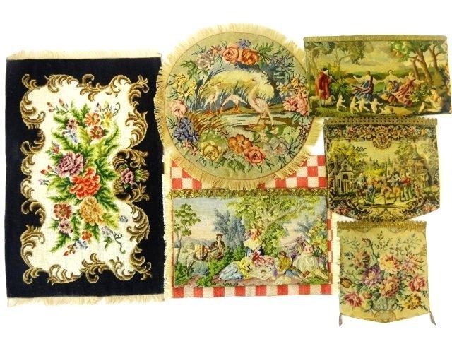 Antique Tapestries Dollhouse Miniatures