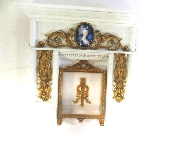 Jim Coates Dollhouse Fireplace