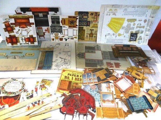 Dollhouse Vintage Paper Items