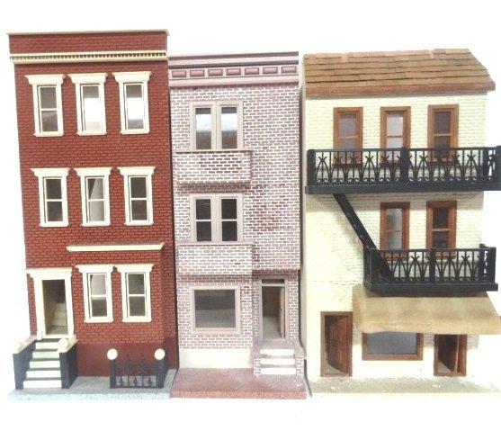 Three San Francisco Style Town Houses