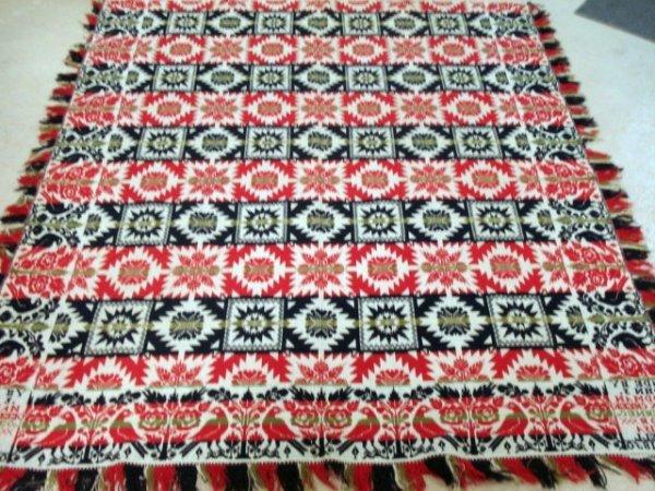 100A: Woolen Coverlet