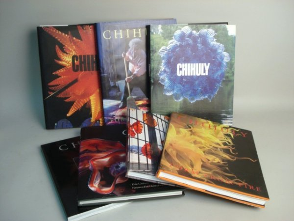 106: Chihuly Glass Books