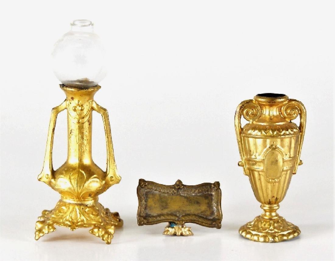 Antique Dollhouse Ormolu Accessories Miniatures