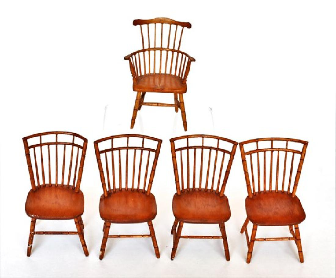 Carlo Conte Dollhouse Windsor Chairs Miniatures