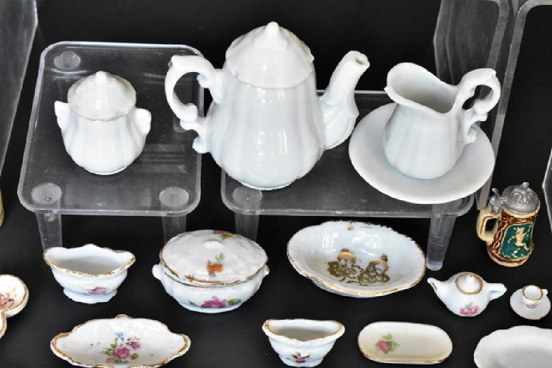 Large Lot of Doll & Dollhouse China Miniatures - 3