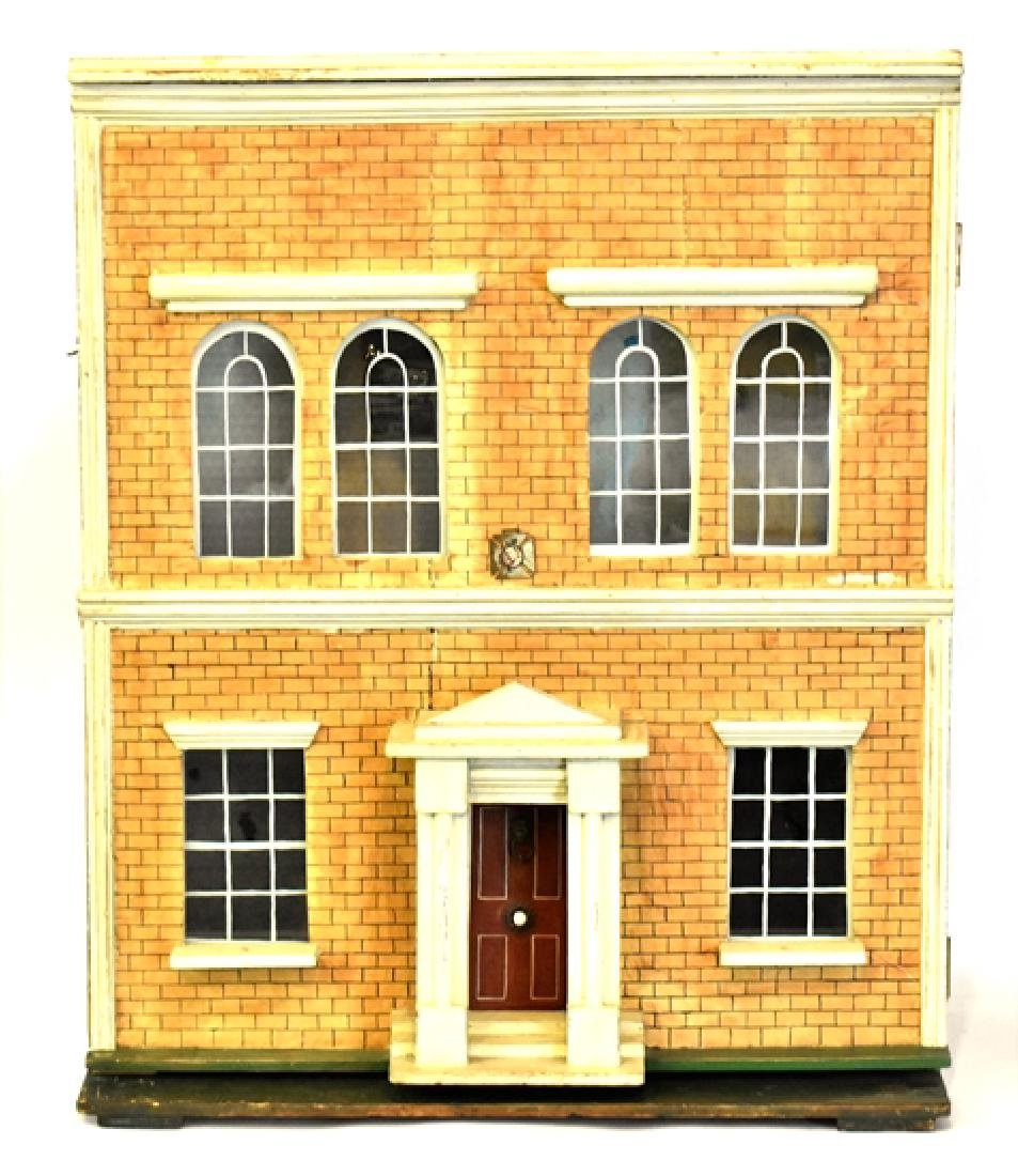 Antique Silber and Fleming Box Dollhouse