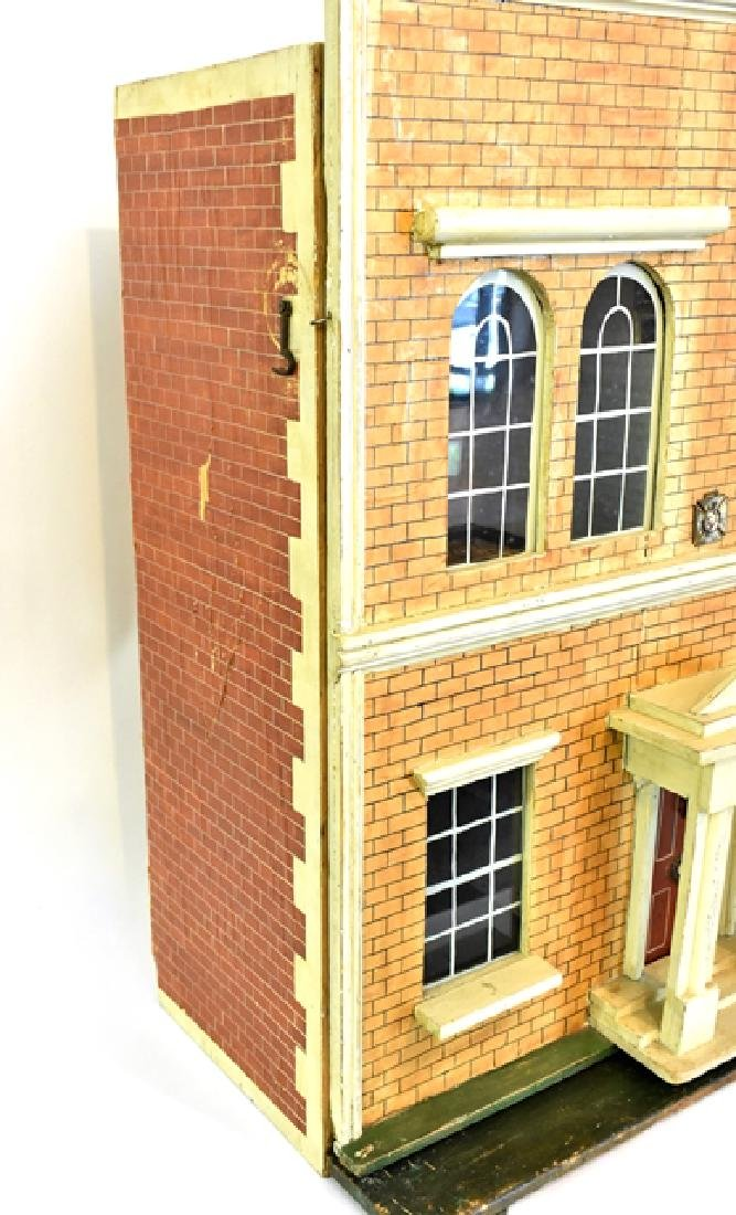 Antique Silber and Fleming Box Dollhouse - 2