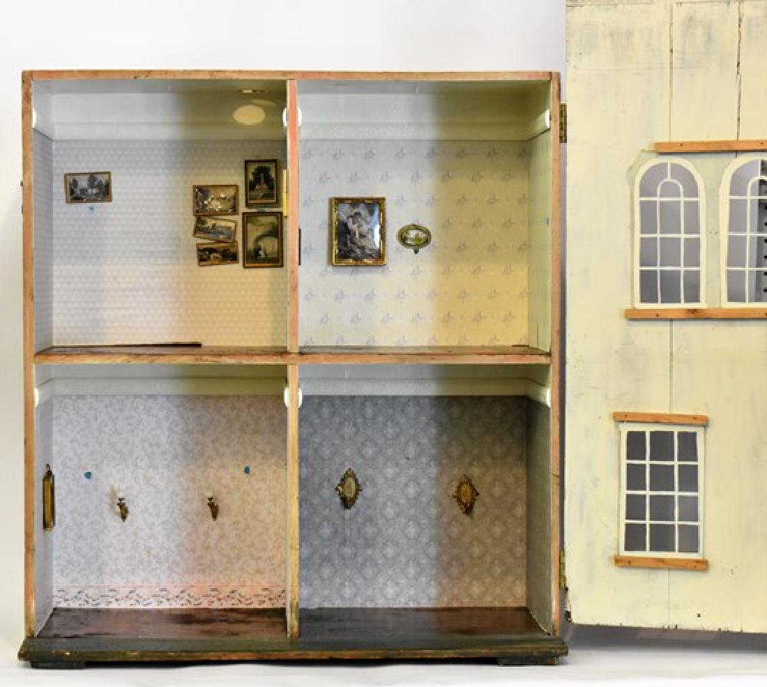 Antique Silber and Fleming Box Dollhouse - 5
