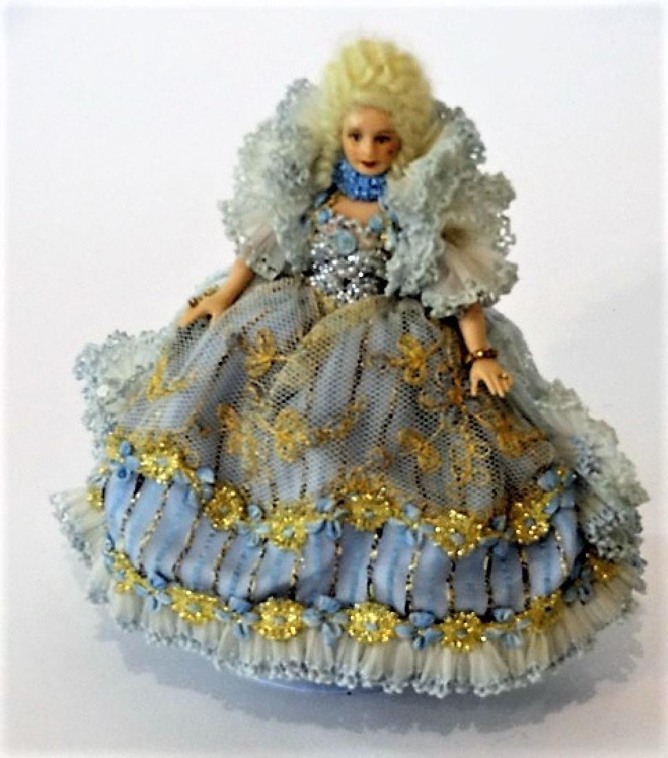 Artisan Bisque Dollhouse Doll Miniature