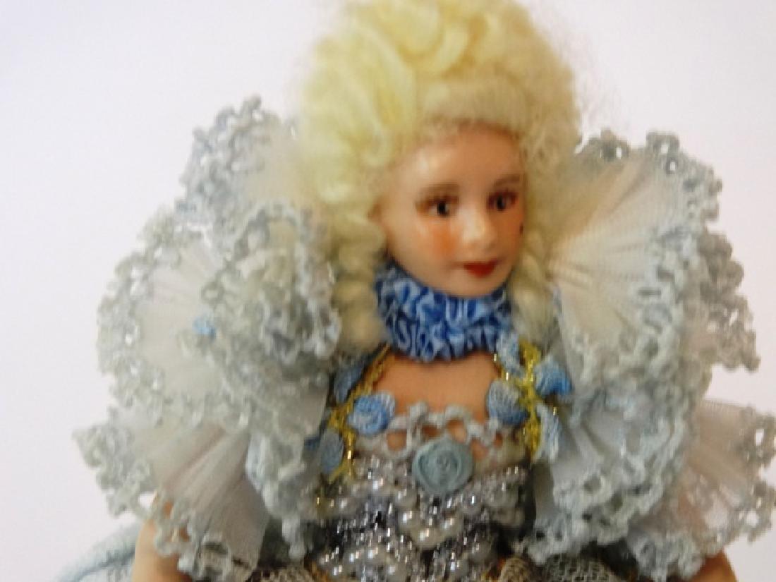 Artisan Bisque Dollhouse Doll Miniature - 2
