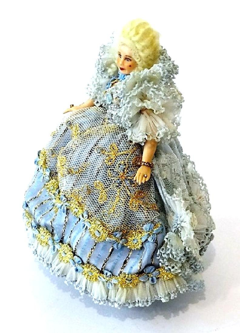 Artisan Bisque Dollhouse Doll Miniature - 3