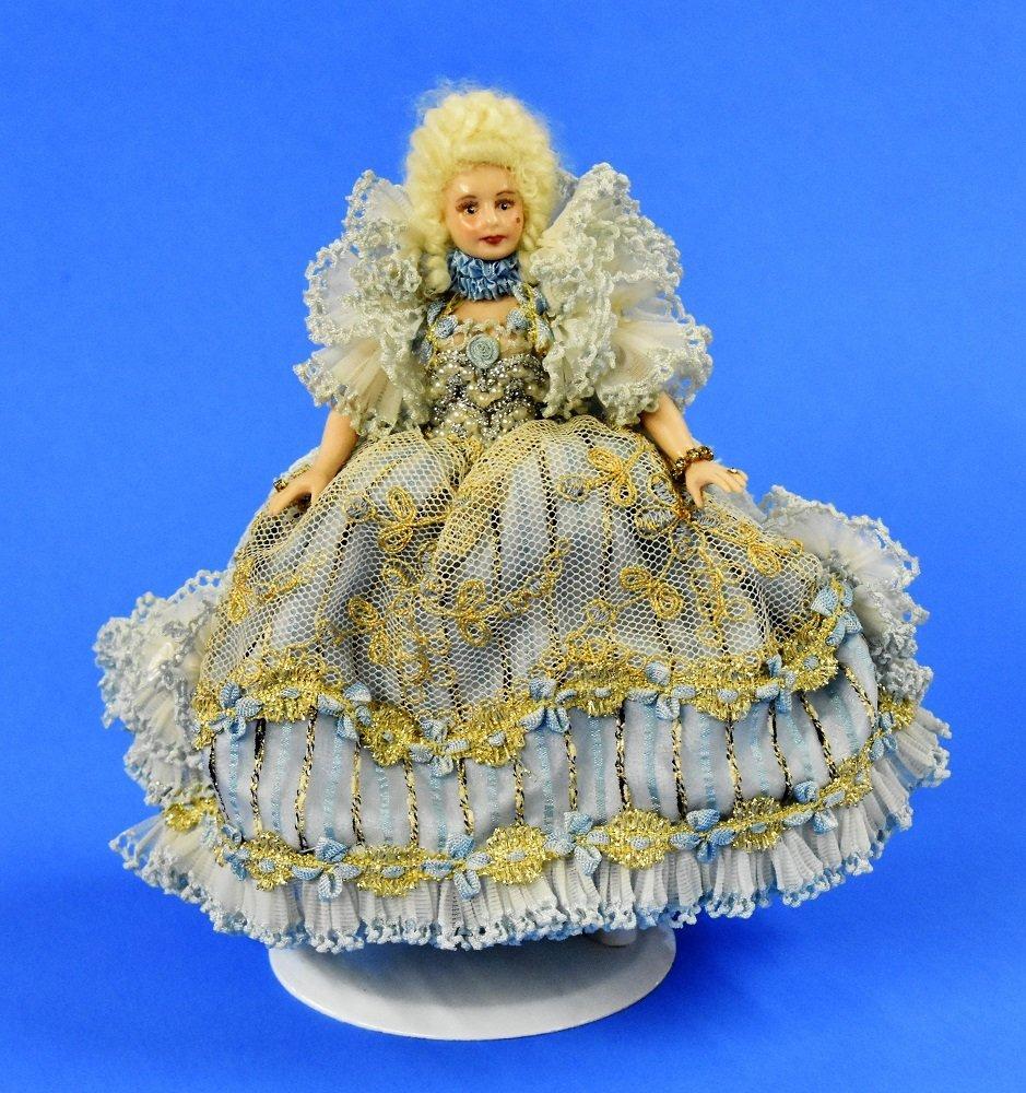 Artisan Bisque Dollhouse Doll Miniature - 4