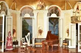 "French Opera House Room Box ""Sunday Noon Along The"