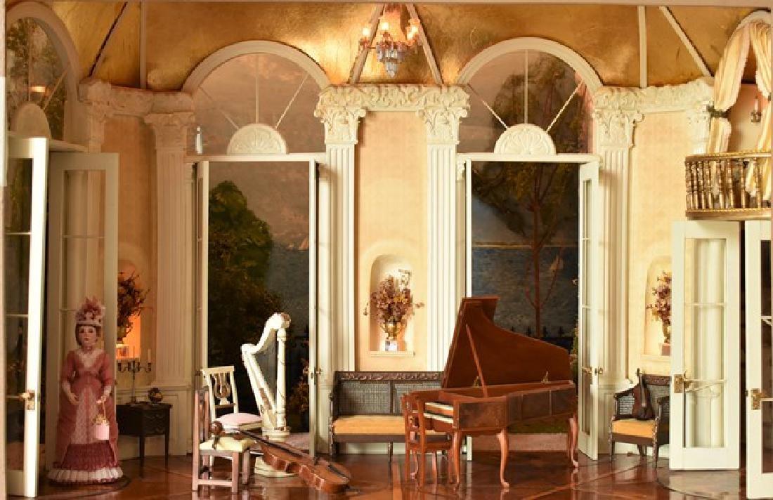 "French Opera House Room Box ""Sunday Noon Along The - 9"