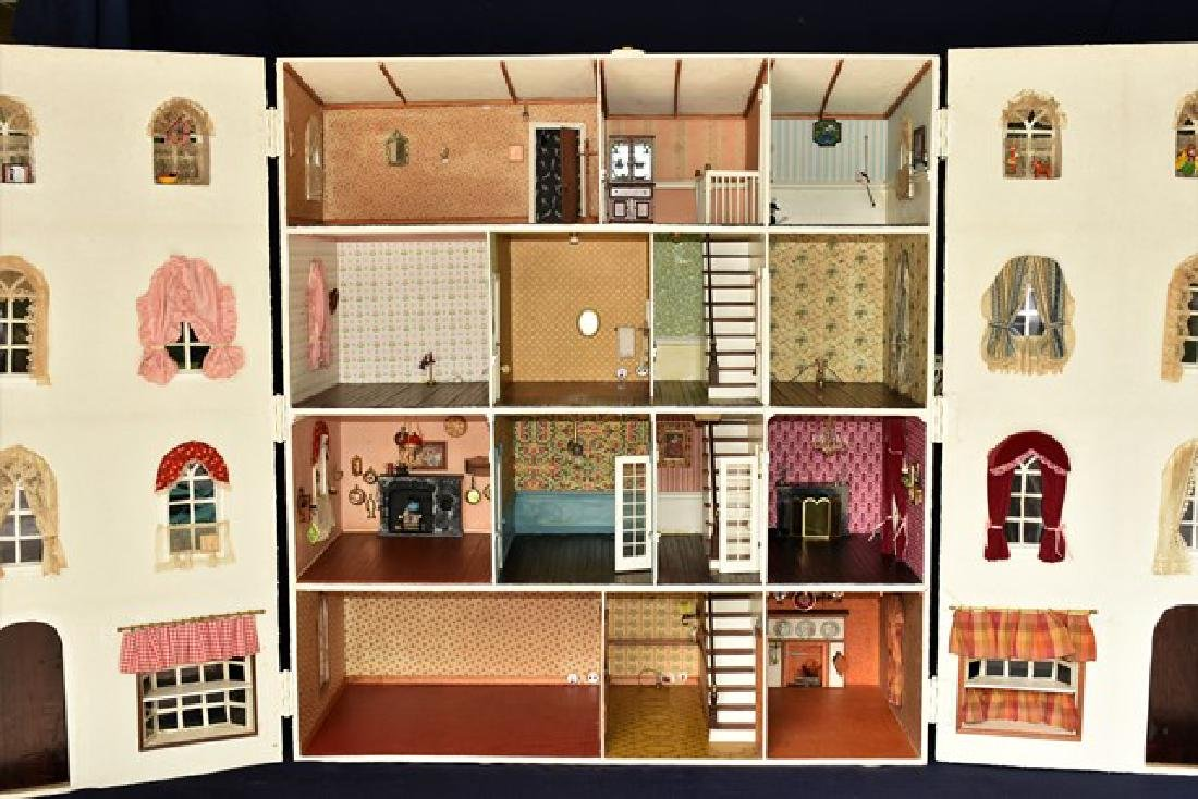 Mini Mansion Large Custom Dollhouse - 4