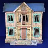 Antique Gottschalk Blue Roof Dollhouse