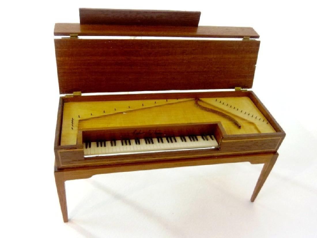 Artisan Dollhouse Square Grand Piano Miniature
