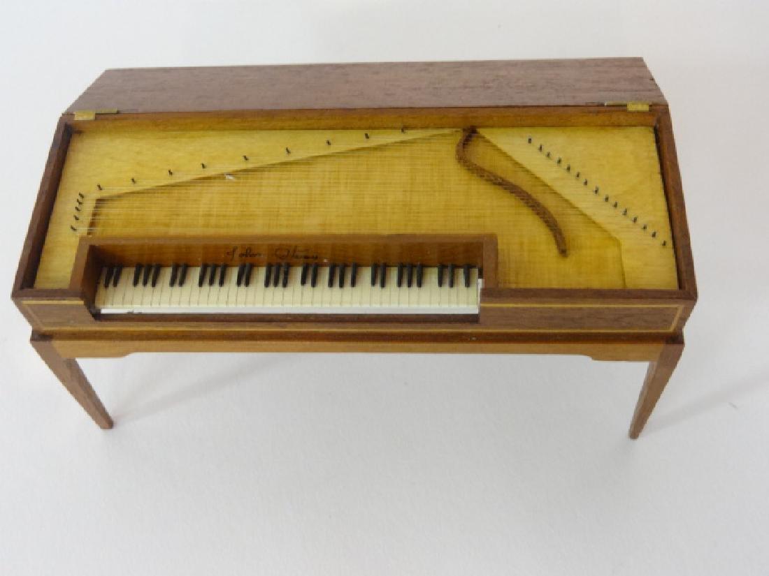 Artisan Dollhouse Square Grand Piano Miniature - 2